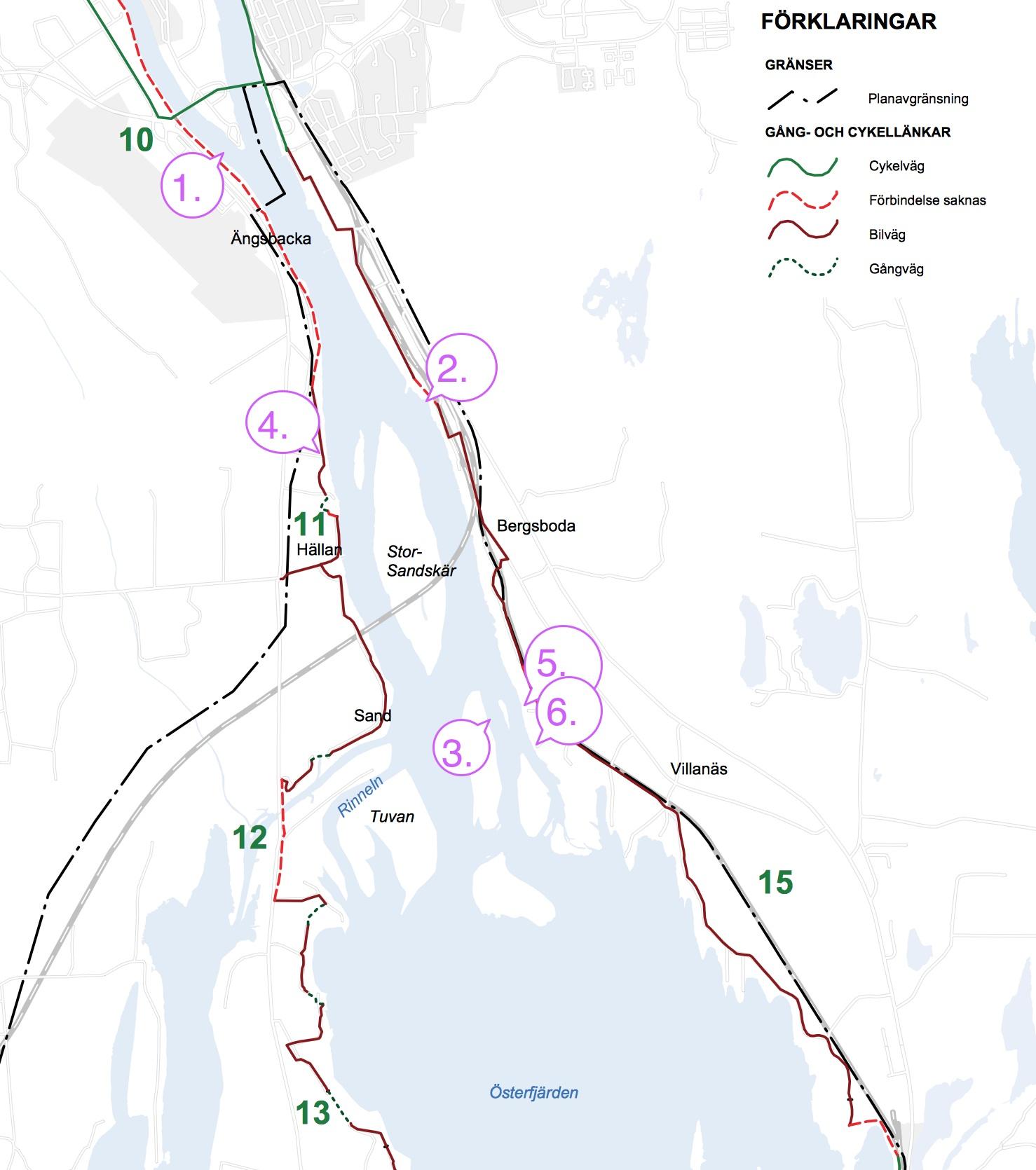 Tegs bys bryggor i Umeälvens Delta för spöfiske